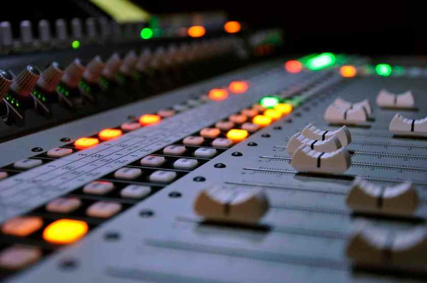 recording-studio-mixing-board-faders