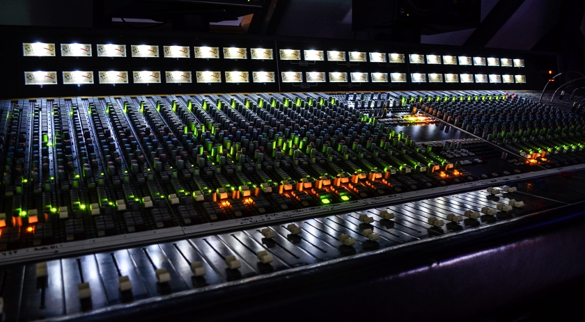 recording console